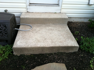 After Picture - Pressure Washing Concrete