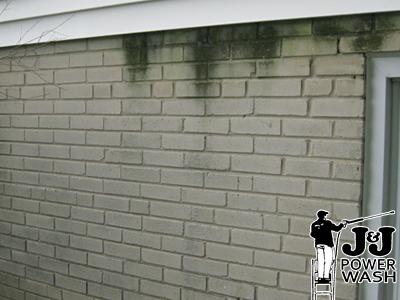 main line brick powerwashing