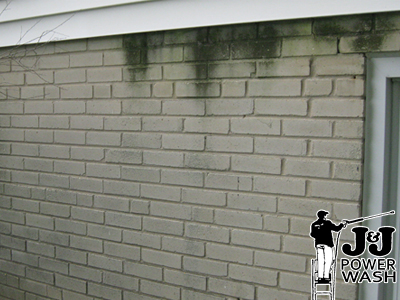 main line brick powerwashing