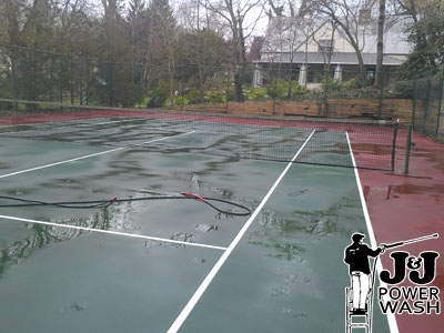 Tennis Courts Clean