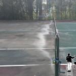 Wayne, Pa Tennis Courts Pressure Washing
