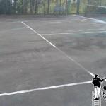 Philadelphia Tennis Courts Pressure Washing