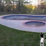 Pool Deck Pressure Washing