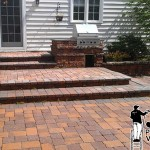 Stone Patio Power Washing Contractor