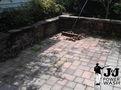 Stone Patio Powerwashing Contractor