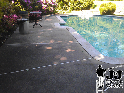 Pool Patio Power Wash
