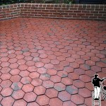 Brick Patio Powerwashing