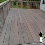 Composite Deck Powrwashing
