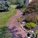 Brick Walkway Pressure Wash