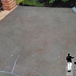 Concrete Patio Washing