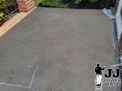 Concrete Patio Washing