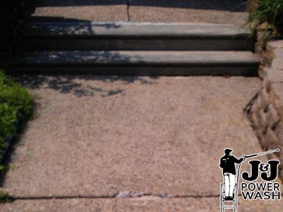 Concrete Sidewalk Pressure Wash
