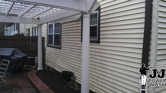 Broomall Pressure Washing Before