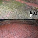 brick patio pressure washing