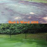 tennis court power washing