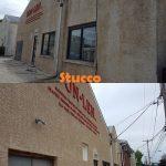 stucco pressure washing
