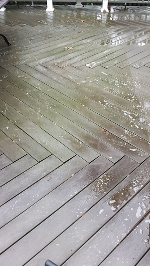 Composite Deck Before
