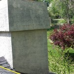 Stucco Chimney After