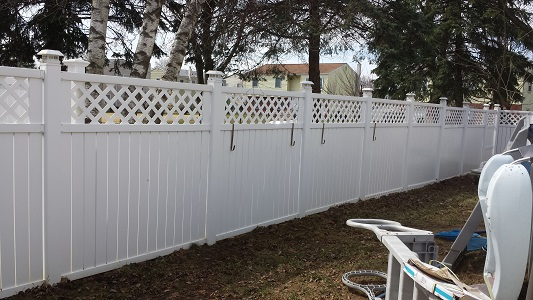 Bensalem Vinyl Fence After