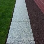 Granite Walkway After