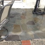 Flagstone Cleaning After