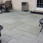 Flagstone Patio After