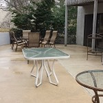 Concrete Patio After Cleaning