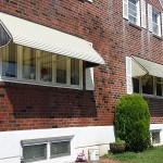 awning before & after