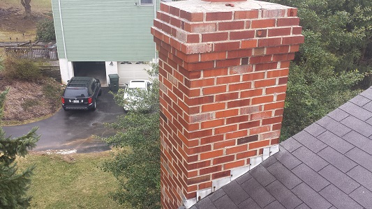 Downingtown Chimney After