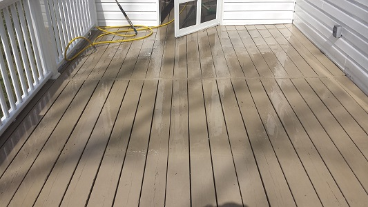 Composite Deck After