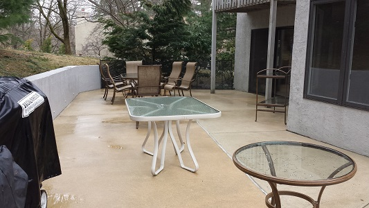 Villanova Concrete Patio After