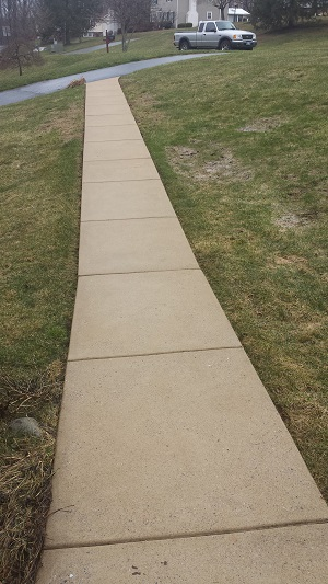 Downingtown Walkway After
