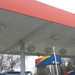Gas Station Pressure Washing After