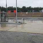 Gas Station Concrete After