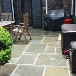 Flagstone Patio After Cleaning