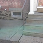 Patio and Steps After Pressure Washing