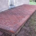 brick patio clean