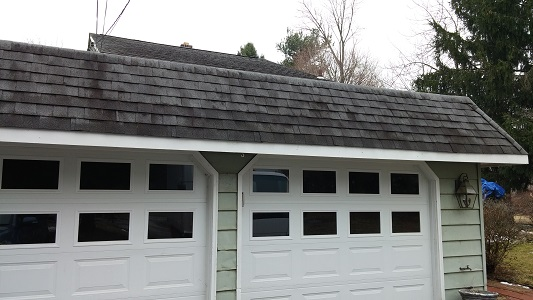 Garage Roof Before