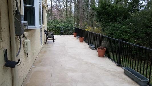 Stone Patio Clean