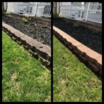 plymouth meeting retaining wall cleaning