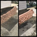 plymouth meeting retaining wall washing