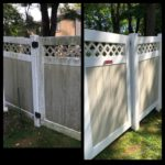Merion Vinyl Fence Washing